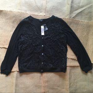NWT Theory Avey Hypnotize Cardigan Sweater Sz L